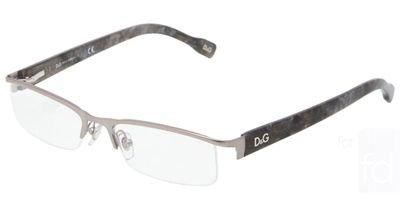 D&G DD 5095 Eyeglasses Matte Gunmetal - Dolce Rimless Eyeglasses Gabbana