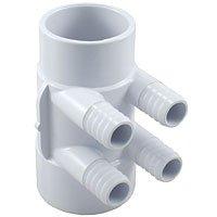 """Water Manifold 2""""S x 2""""SP (4) 3/4""""B Ports"""