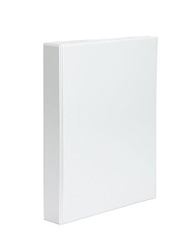 Tortora 781938–Cartella Personalizzabile 2anelli, 40mm, formato A4, colore: bianco Pardo