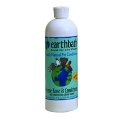 Earthbath Cream Rinse And Conditioner 16oz