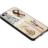 img - for Harry Potter The Hunger Games Divergent Percy Jackson symbol art for Iphone Case ( iPhone 6s black) book / textbook / text book