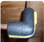 Tubular Foam (Thermwell Products ELB78H Pipe Insulation, Elbow, Tubular Foam, 3/4-Inch - Quantity 20)