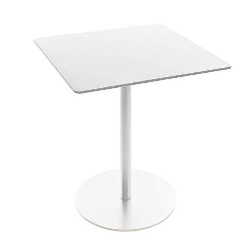 la palma Brio Fix - Mesa Alta (72 x 60 x 72 cm), Color Blanco ...