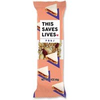 Gluten Free Granola Breakfast Bar, Peanut Butter & Jelly by This Bar Saves Lives, 1.4 oz, 12 bars (Organic Peanut Butter And Jelly)
