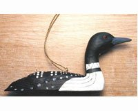 (Songbird Essentials SEFWC113 Loon Ornament (Set of 1))