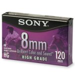 Sony Video Cassette Tape, 8 MM High Grade, 120 Minutes by Sony