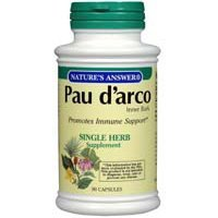 NATURE'S ANSWER PAU D'ARCO INNER BARK, 90 CAP by Nature's Answer