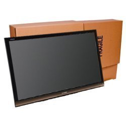 Uboxes TV Moving Box Flat Screen Fits TV's 32'' To 70'' Adjustable Box LCD,LED,Plasma