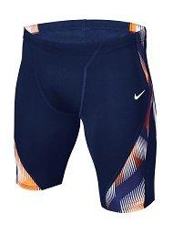 Nike Men\'s Beam Jammer (34, Orange/Blue)