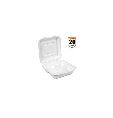20 Food Take Out Boxes. Party BBQ Picnic Foam Plates Trays. Disposable Take Out Containers Chinese Food Menu Box. to Go Box. Restaurant Food Boxes. Chinese Take Out Boxes. 3-Compartment Hinged Lid