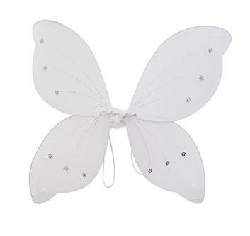 16x18 Fairy Wings Butterfly Costume - White