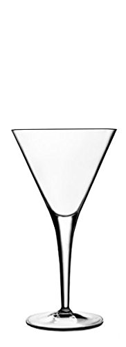 Luigi Bormioli Michelangelo Martini Glass, 8-3/4-Ounce, Set of 6