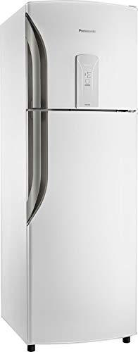 Geladeira / refrigerador 387 litros panasonic 2 portas frost free - nr-bt40bd1wb