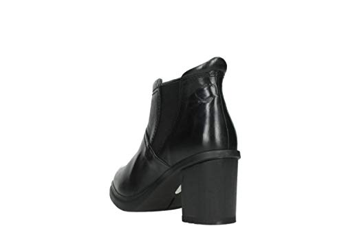 Boots Wolky 30000 Comfort Black Leather Astana 4xpYxP