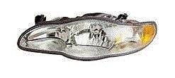 New Left Headlamp Headlight (Fits 00 01 02 03 04 05 Chevrolet Monte Carlo Headlight DRIVER NEW Headlamp Left front)