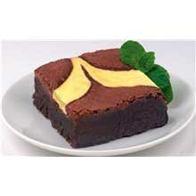 Davids Cookies Uniced Cheese Cake Brownie, 4 Ounce -- 48 per (Fudge Brownie Cheesecake)