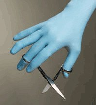 High Five N854 Series N85 Nitrile Exam Glove, X-Large (Case of 10) by High Five