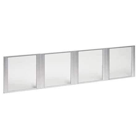 ALERA ALEVA301730, Glass Door Set, Wide Hutch, 4 Doors, PK4
