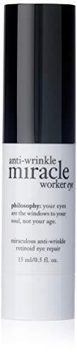 Philosophy Miracle Worker Miraculous Anti-Aging Retionoid Eye Repair, 0.5 Ounce (Miracle Worker Anti Aging Retinoid Eye Repair)