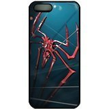 [The Amazing Spiderman Logo PC Case Cover for iPhone 5 and iPhone 5s Black] (Joe Child Costumes Gloves)