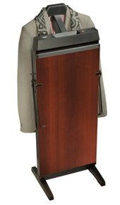Corby 3300 Pants Press Valet Walnut Wood Effect with Black Trim by Corby