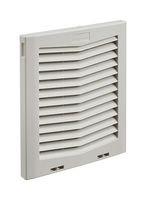 HG1000504-Vent, Plastic, Grey, Hoffman HF10 Series Side-Mount Fresh Air Enclosure Cooling Filter Fans by Hoffman Enclosures (Image #1)