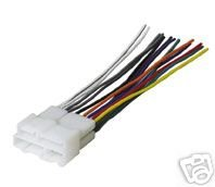 21WBPFKZ81L amazon com stereo wire harness pontiac firebird 99 00 01 02 (car pontiac bonneville wiring harness at fashall.co