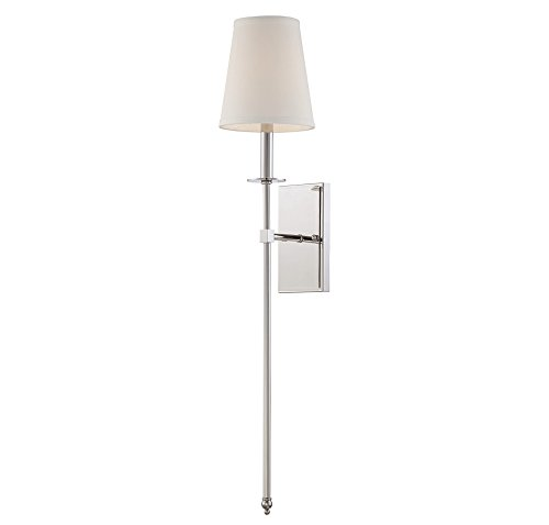 Savoy House Nickel Sconce - 7