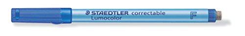 Staedtler 305°F 3Overhead Projector Film Pen Fine Tip 0.6mm Box of 10, Blue