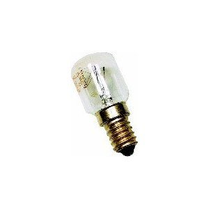1 X UNIVERSAL Matsui Coolzone Fridge BULB / LAMP APPLIANCE Lamp E14 10W CZ140F/ 140L/ 51057LAR/ 51058FRI/ 51067/ 51071/ 51072/ 51106/ 51125 wellco