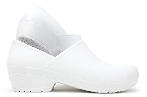 - Boaonda Women's Closed Back Clog - Susi Shoes (10/11, White)