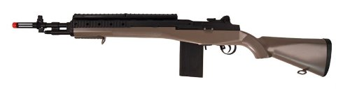 tsd m14 m100 spring airsoft gun ris system fps-400 for sale  Delivered anywhere in USA