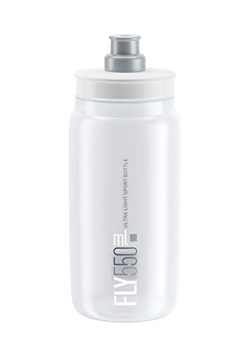 Elite 130160441 Fly Clear Grey Logo 550ml - Logo Water Bottle