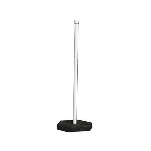 Brady 103566 Recycled Rubber Sign Post System 20 Lb.,