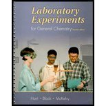 Laboratory Experiments for General Chemistry 9780030329067