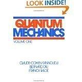 Quantum mechanics. Volume I by Claude Cohen-Tannoudji, Bernard Diu, Franck Laloe (January 1, 1977) Paperback