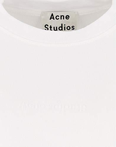 Femme Ai0022183 Studios Sweatshirt Coton Blanc Acne BYS5wPqR