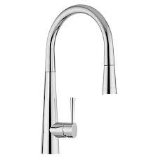 Premier Celica Arched Kitchen Sink Tap with Pull Out Spray in Chrome