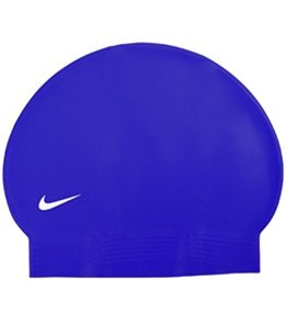 Nike Flat Latex Swim Cap - Black