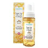 Mambino Organics Baby Kids Wash and Shampoo, Happy Time, 5.5 Fluid Ounce