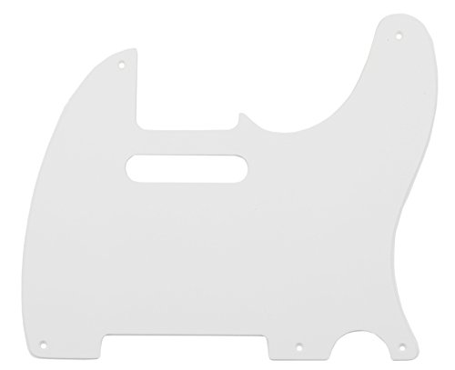 Fender Pure Vintage  '52/'58 Telecaster Electric Guitar Pickguard, 1-Ply, Eggshell