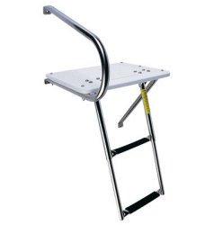 Garelick Swim Platform Poly W/2-step Under Ladder O/b 19536 - Poly Swim Platform