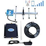 Phonelex Verizon Cell Phone Signal Booster Amplifier 4G LTE 700Mhz FDD Band13 Cell Signal Booster Repeater Wireless Verizon Mobile Phone Signal Booster with Indoor Whip/Outdoor Yagi Antennas for Home