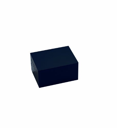 Thomas 949365 Anodized Aluminum Double Heat Block, 6'' Length x 3.75'' Width x 2.25'' Height