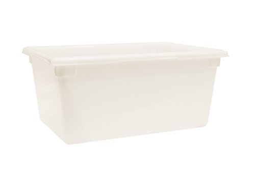 Rubbermaid Commercial Food and Tote Box, 16-5/8 Gallon, White, FG352800WHT by Rubbermaid Commercial Products