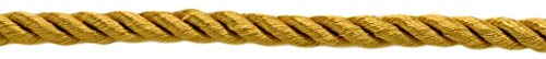DÉCOPRO 144 Yard Package of 3/8 inch Large Decorative Cord Basic Trim Collection Style# 0038NL Color: Old Gold - D05 (432 Ft. / 131.7M) by DÉCOPRO