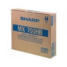 Sharp Genuine Brand Name, OEM MX700HB (MX-700HB) Waste Toner Container for MX-550, MX-620, MX-700 Printers (Waste 550 Toner)