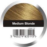 Hair Fibers by Dr Hair Medium Blonde 1.05oz - Revolutionary Nanotechnology for Instant Hair Thickening - Simple Application of Natural Hair Building Fibers (Medium Blonde)