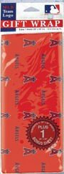 Anaheim Angels Wrapping Paper (Flat)