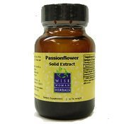 Solid Passion Flower - Wise Woman Herbals - Passionflower Solid Extract - 2 oz by Wise Woman Herbals